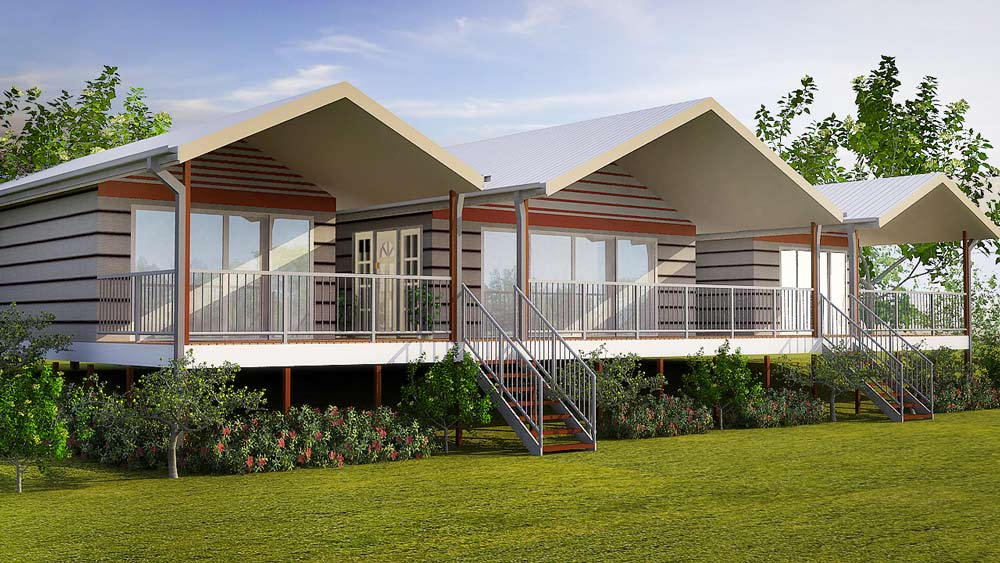 kit home designs granny flats eco homes duplex and For4 Bedroom Kit Homes